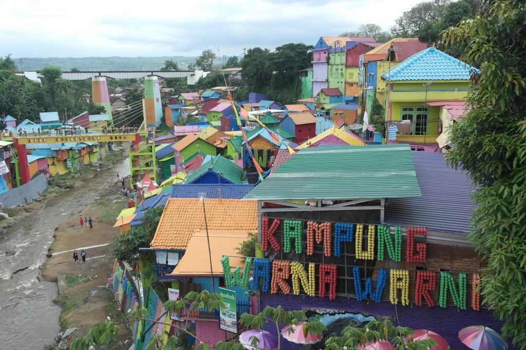 rainbow city malang java