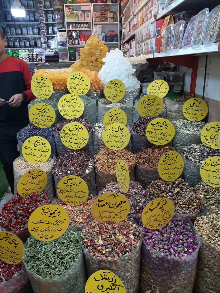 iran dried flowers for tea
