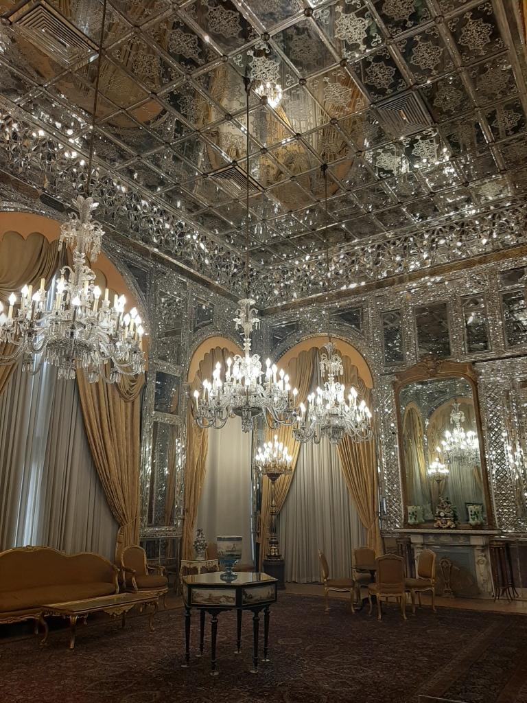 mirror palace tehran