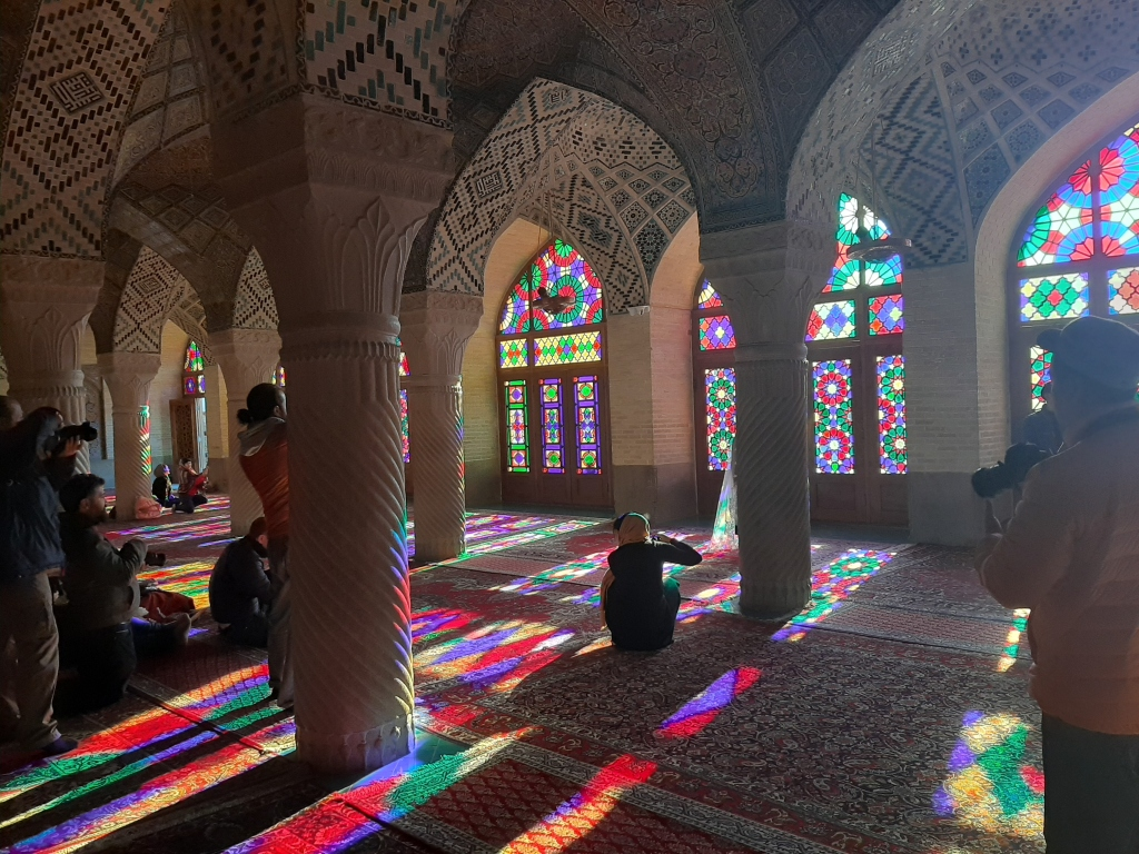 pink mosque shiraz