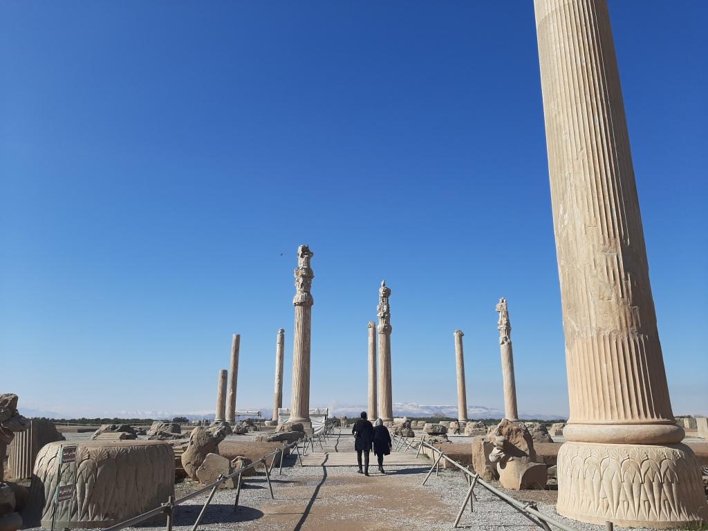 persepolis ruins iran