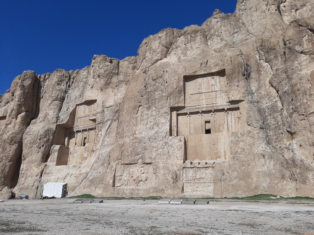 necropolis persepolis iran