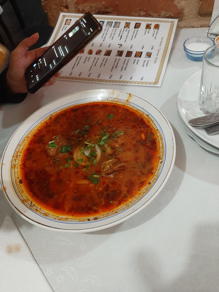 georgian food kharcho soup