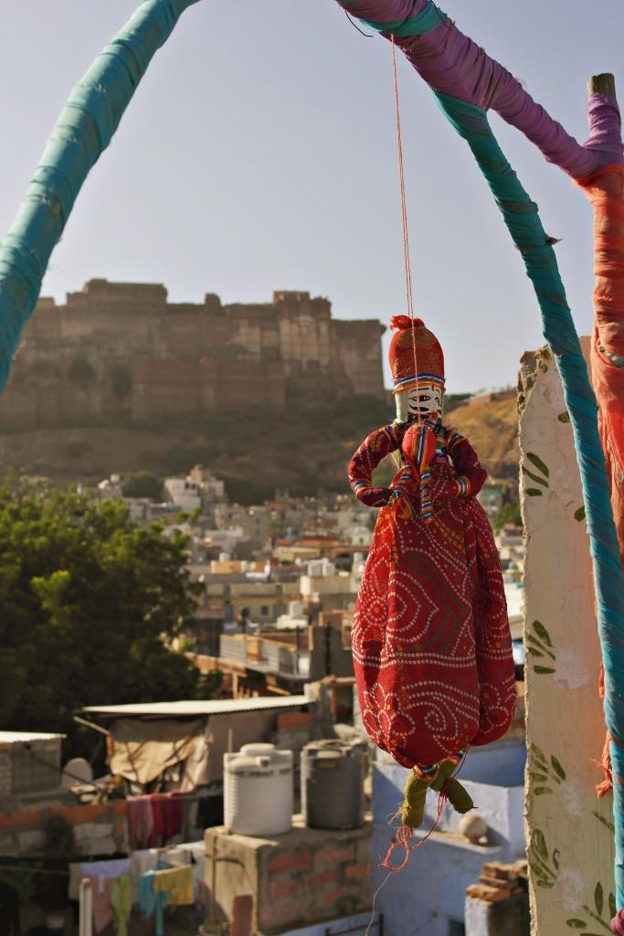 india jodhpur doll fortress