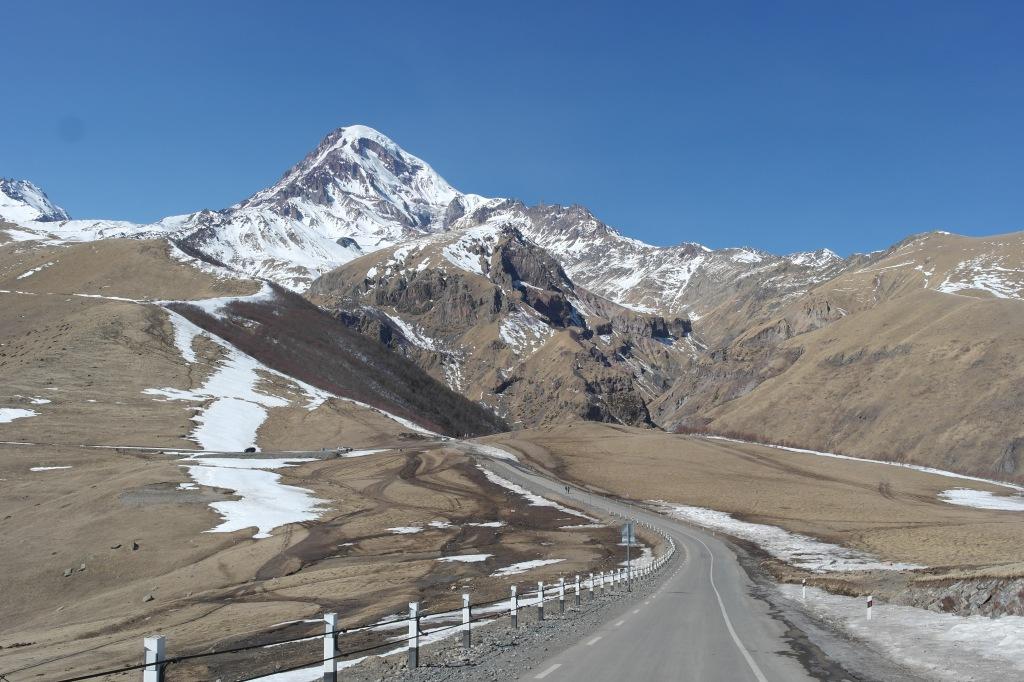 georgian mountains kazbegi