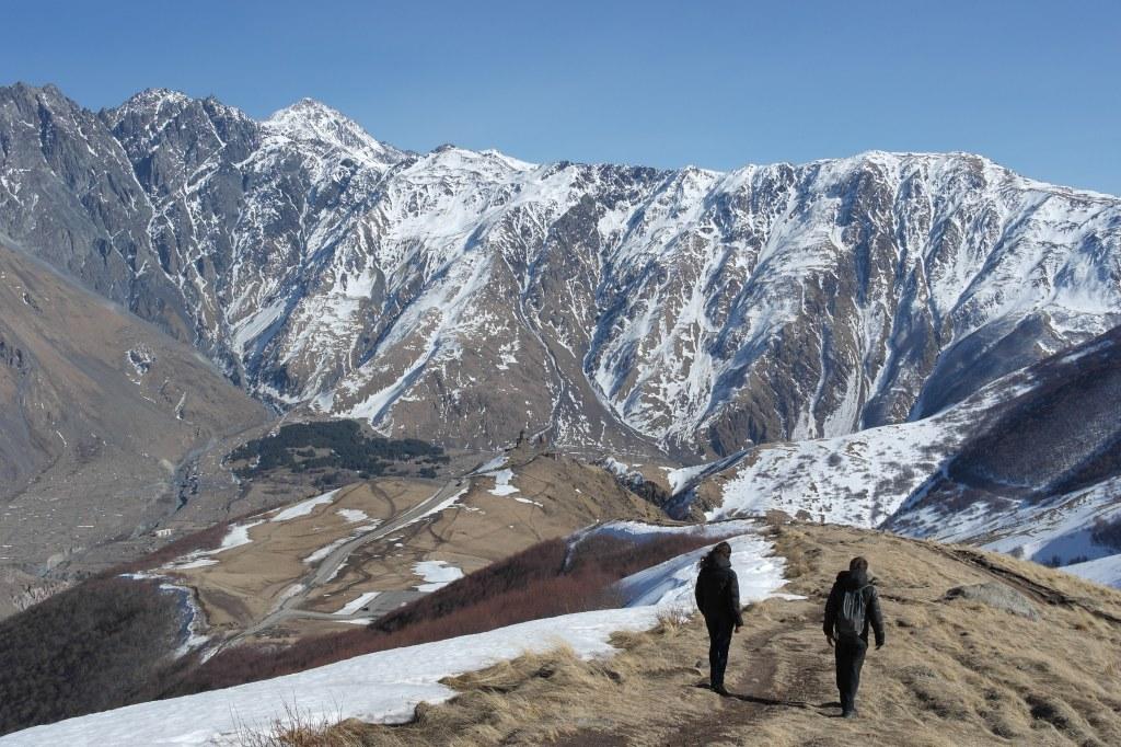 kazbegi mountains georgia