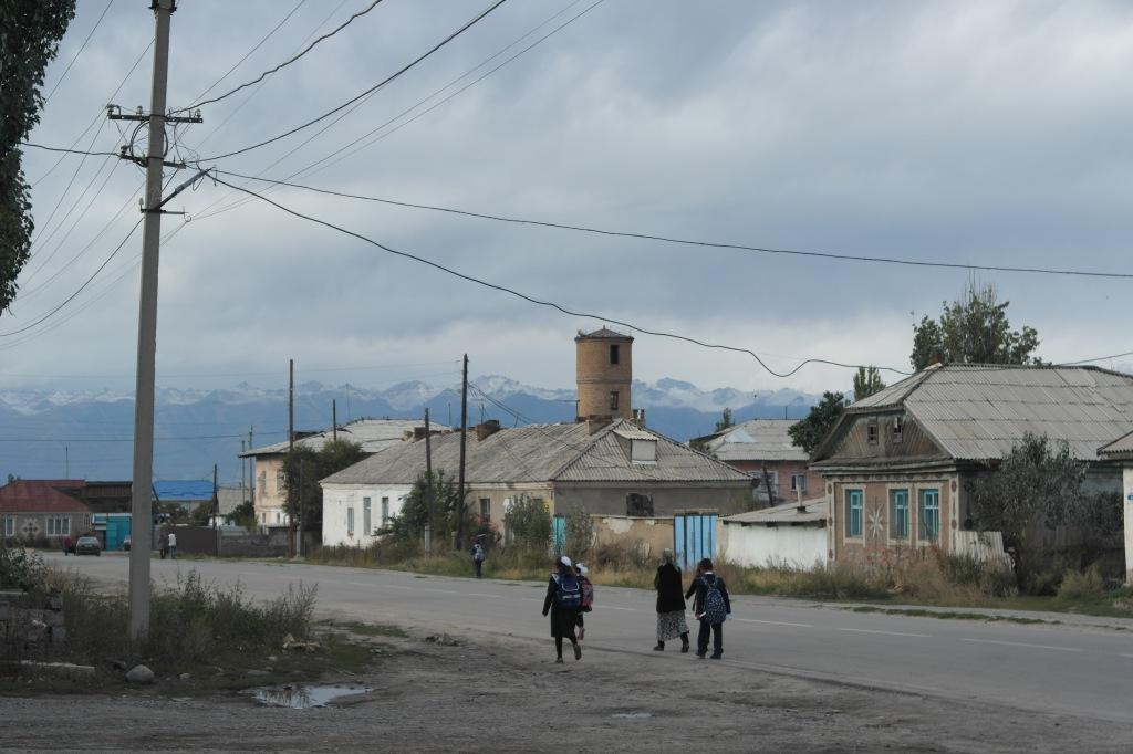 Karakol village life Kyrgyzstan
