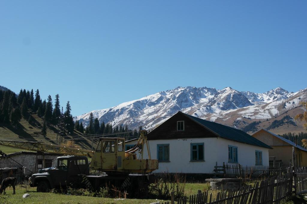 Jyrgalan valley town