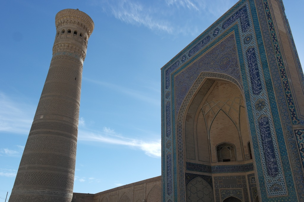 Uzbekistan Bukhara tower mosque
