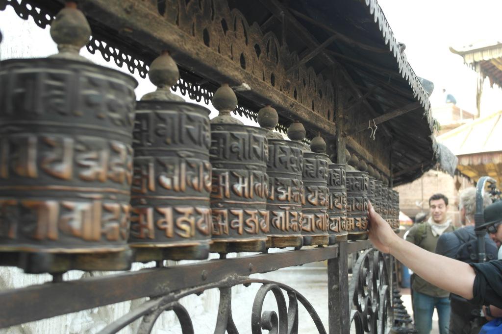Prayer wheels Nepal