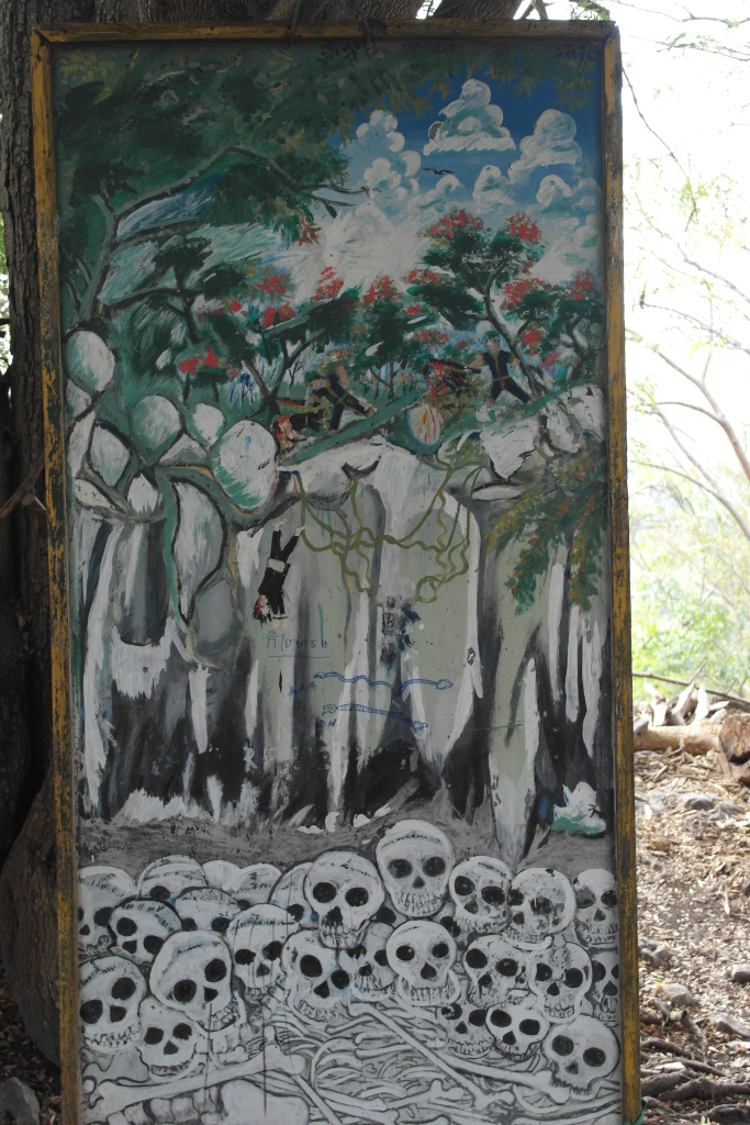 killing cave painting battambang