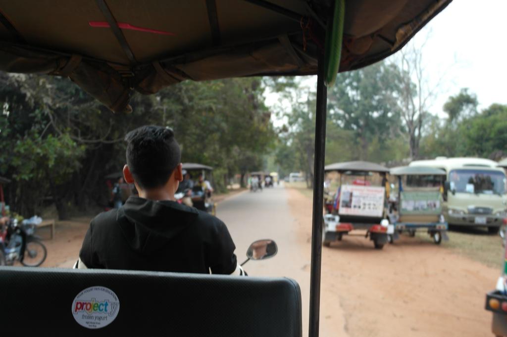 tuktuk cambodia siem reap angkor wat